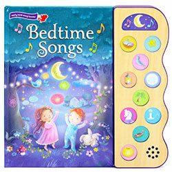 Bedtime Songs 10-Button Children's Sound Book