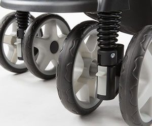 infant pushchair wheels