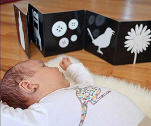 high contrast cards for baby